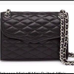 Mini Quilted Affair Black . Rebecca Minkoff